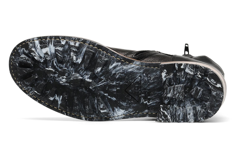 Stiefeletten & Boots Jean-Baptiste Rautureau Hyrod Strap Boot schwarz ansicht von oben