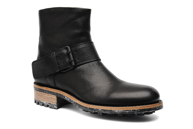 Boots en enkellaarsjes Jean-Baptiste Rautureau Hyrod Strap Boot Zwart detail