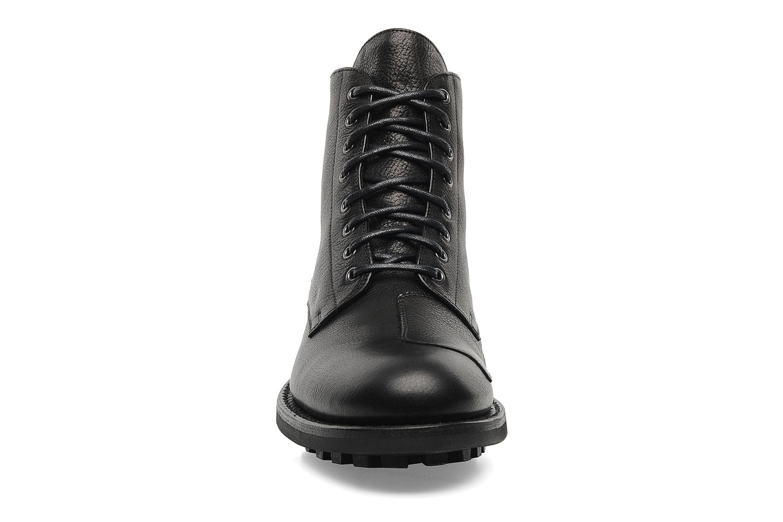 Bottines et boots Jean-Baptiste Rautureau Hyrod Lace Up Noir vue portées chaussures