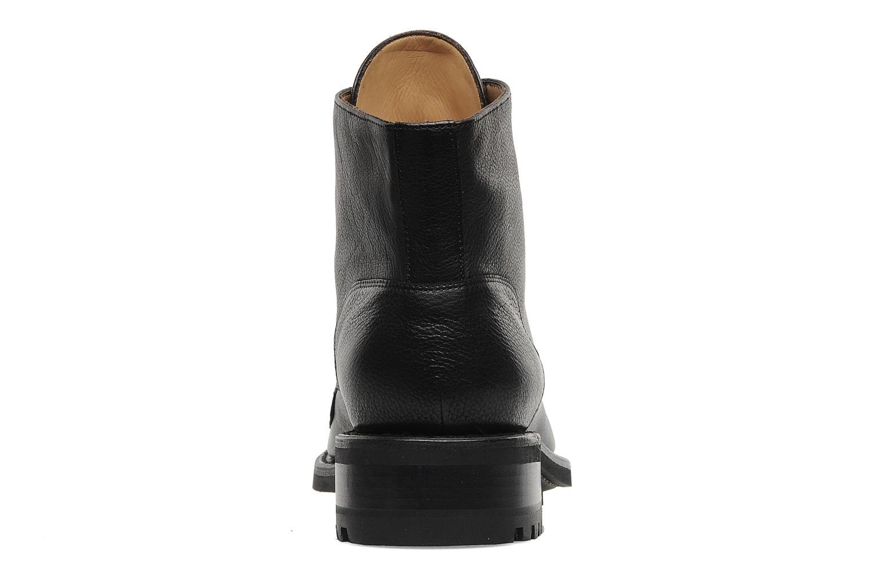 Stiefeletten & Boots Jean-Baptiste Rautureau Hyrod Lace Up schwarz ansicht von rechts