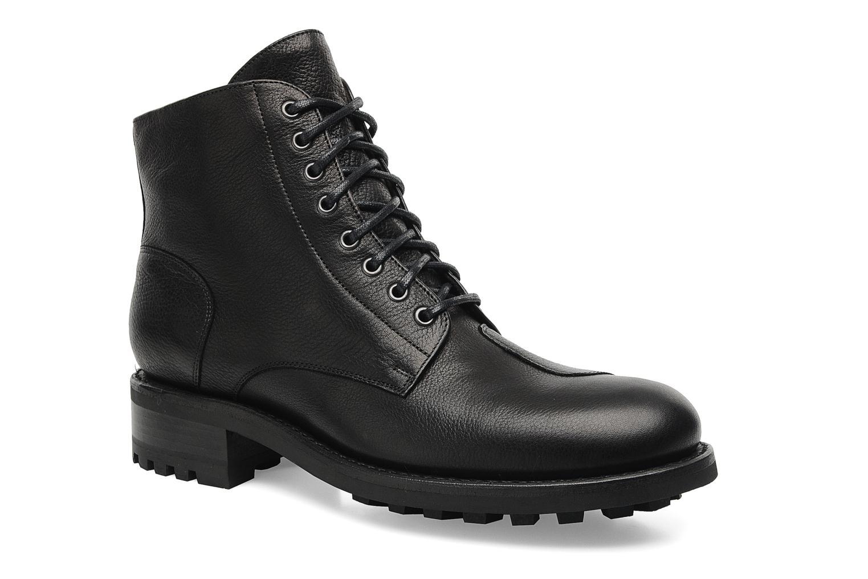 Stiefeletten & Boots Jean-Baptiste Rautureau Hyrod Lace Up schwarz detaillierte ansicht/modell