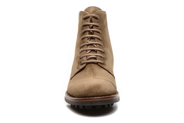 Bottines et boots Jean-Baptiste Rautureau Hyrod Lace Up Vert vue portées chaussures