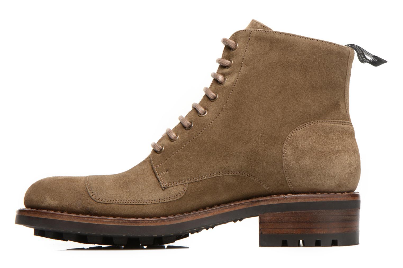 Bottines et boots Jean-Baptiste Rautureau Hyrod Lace Up Vert vue face