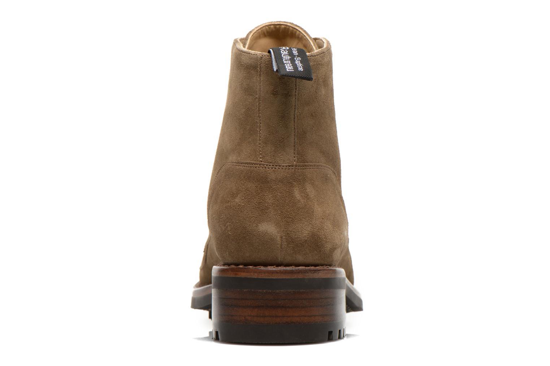 Bottines et boots Jean-Baptiste Rautureau Hyrod Lace Up Vert vue droite