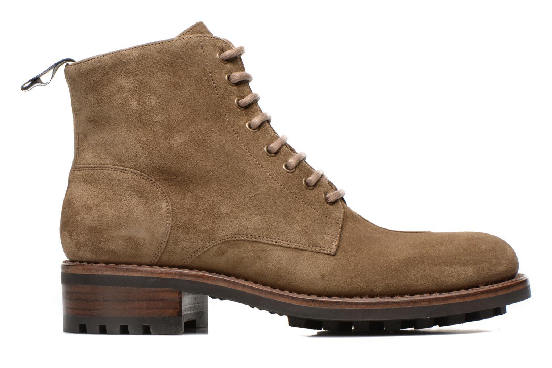 Bottines et boots Jean-Baptiste Rautureau Hyrod Lace Up Vert vue derrière