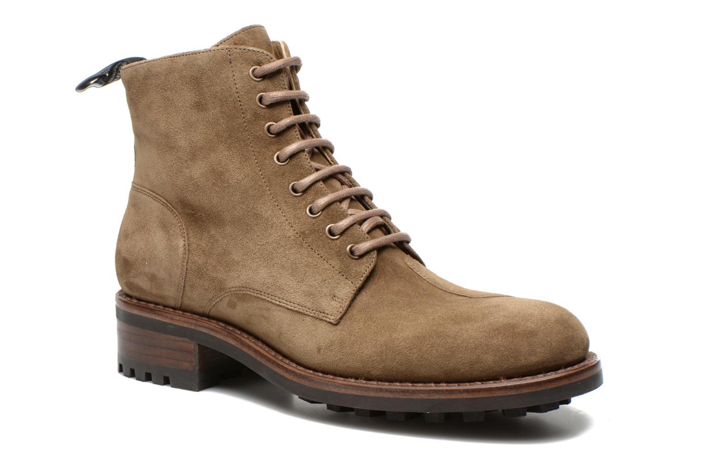 Bottines et boots Jean-Baptiste Rautureau Hyrod Lace Up Vert vue détail/paire