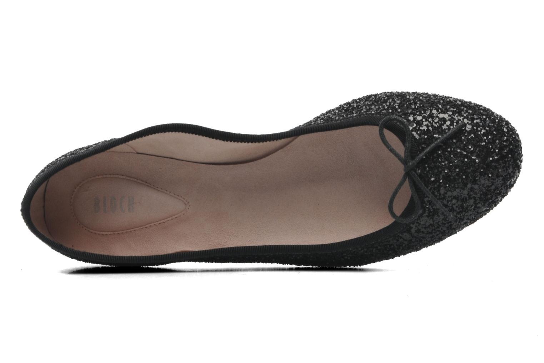 Ballerina's Bloch Eloise Zwart links