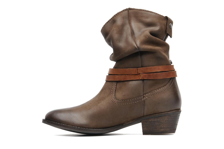 Stiefeletten & Boots SPM CLAP braun ansicht von vorne