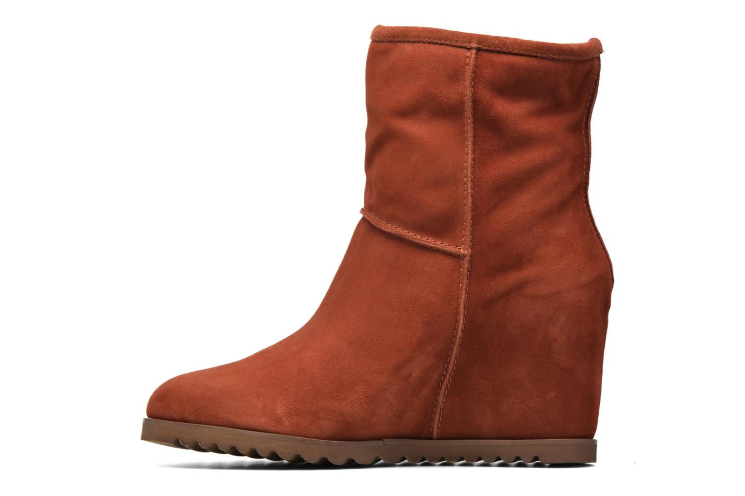 Ankle boots Fabio Rusconi Marta Brown front view