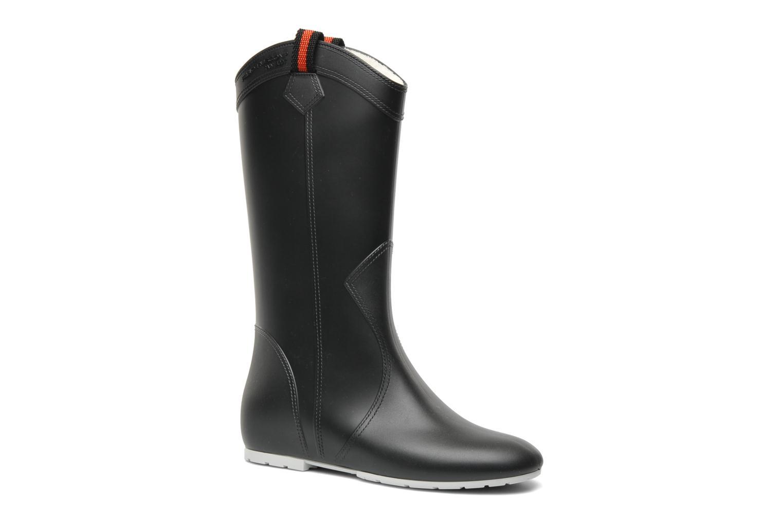 Boots en enkellaarsjes Fabio Rusconi Paola Zwart detail