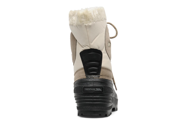 Chaussures de sport Trespass Florel Beige vue droite