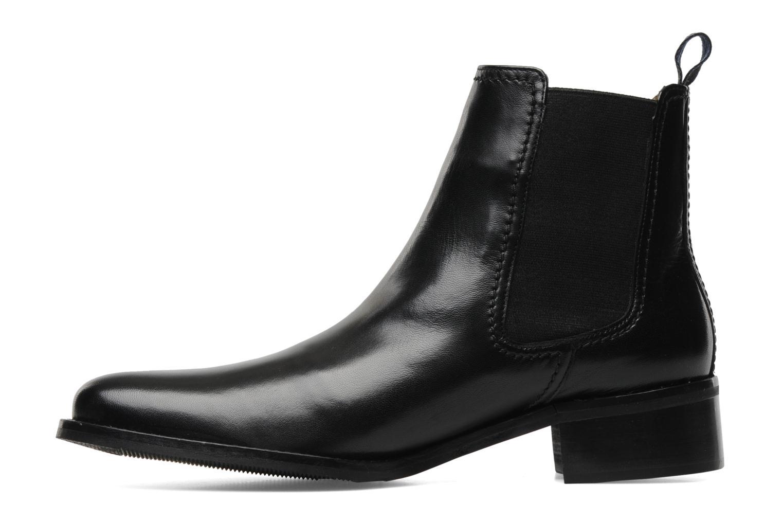 Boots en enkellaarsjes Melvin & Hamilton Tina 3 Zwart voorkant