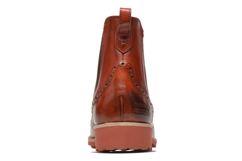 Amelie 5 W. Orange/ Elast. Brown