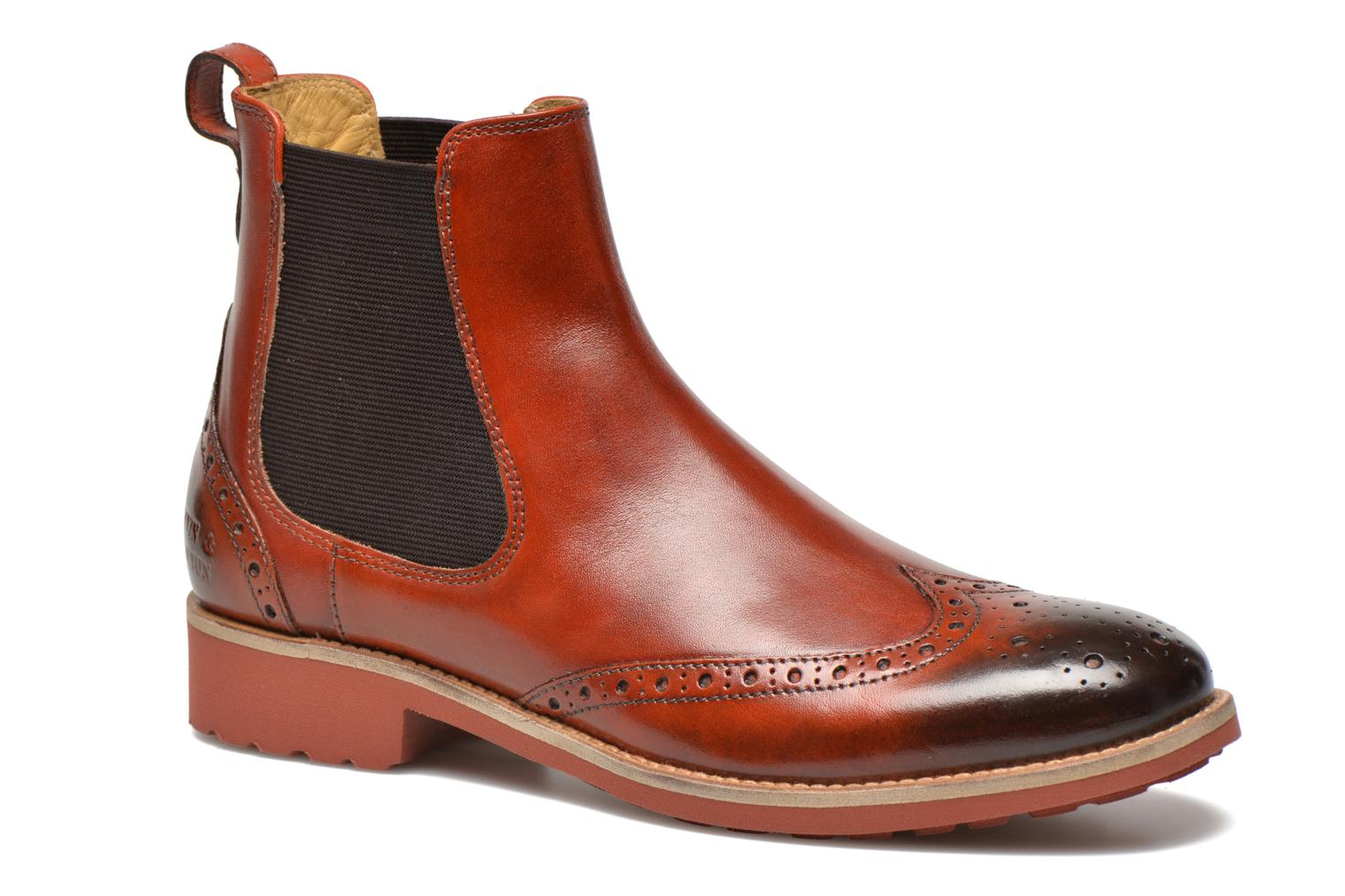 Amelie 5 W. Orange/ Elast. Brown