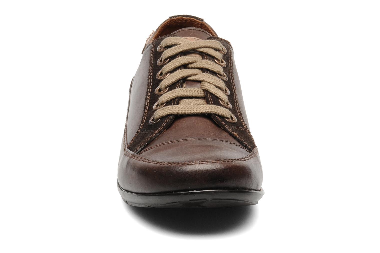 Chaussures à lacets Pikolinos Lisboa 767-9980 Marron vue portées chaussures