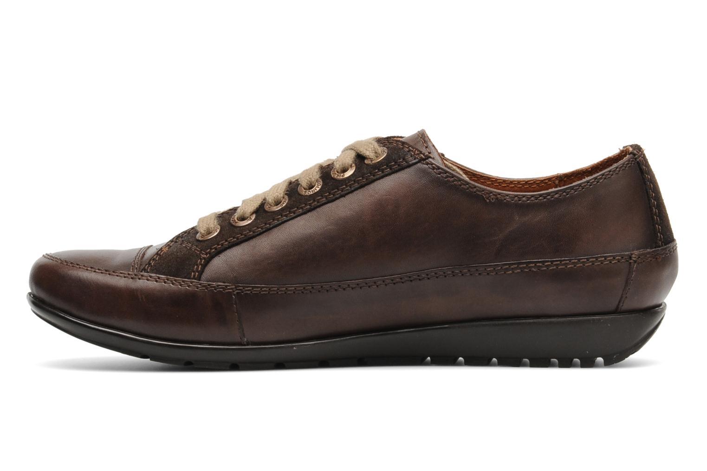 Chaussures à lacets Pikolinos Lisboa 767-9980 Marron vue face