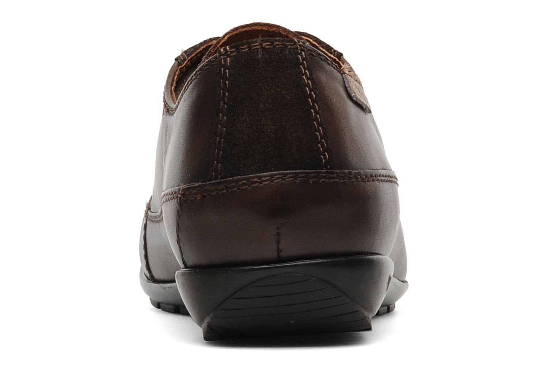 Chaussures à lacets Pikolinos Lisboa 767-9980 Marron vue droite