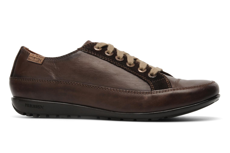 Chaussures à lacets Pikolinos Lisboa 767-9980 Marron vue derrière