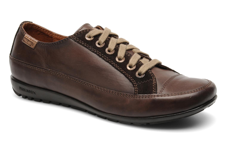 Chaussures à lacets Pikolinos Lisboa 767-9980 Marron vue détail/paire