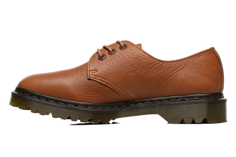 Chaussures à lacets Dr. Martens Immanuel Marron vue face
