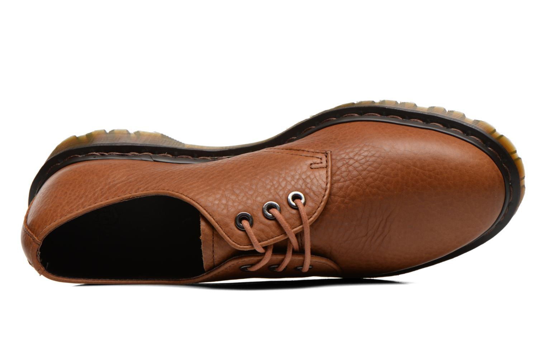Chaussures à lacets Dr. Martens Immanuel Marron vue gauche