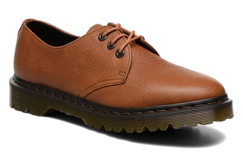 Chaussures à lacets Dr. Martens Immanuel Marron vue détail/paire