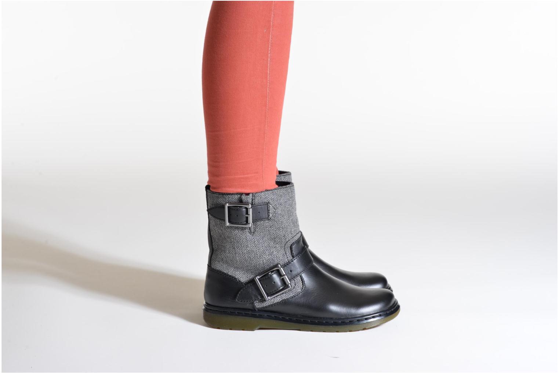 Bottines et boots Dr. Martens Gayle Noir vue bas / vue portée sac