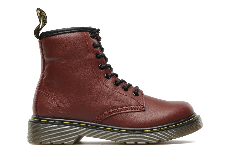 Boots en enkellaarsjes DR. Martens Juniors Delaney Lace boot Bordeaux achterkant