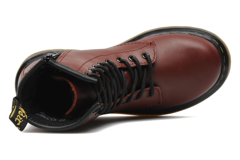 Boots en enkellaarsjes DR. Martens Juniors Delaney Lace boot Bordeaux links