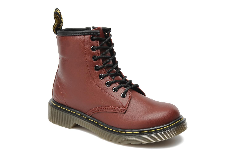 Boots en enkellaarsjes Dr. Martens Juniors Delaney Lace boot Bordeaux detail