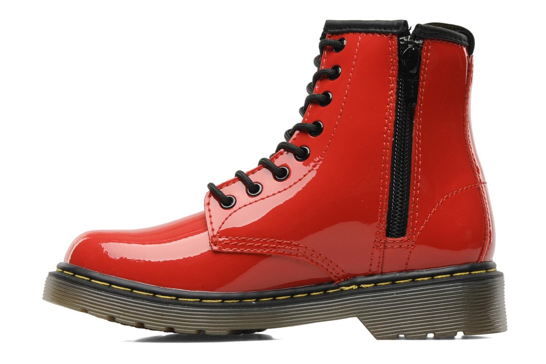 Ankelstøvler Dr. Martens Juniors Delaney Lace boot Rød se forfra