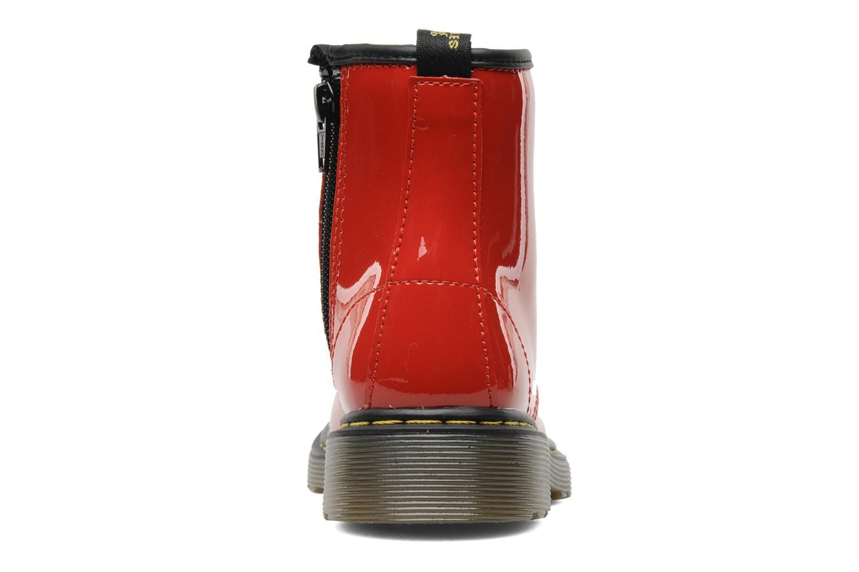 Ankelstøvler Dr. Martens Juniors Delaney Lace boot Rød Se fra højre