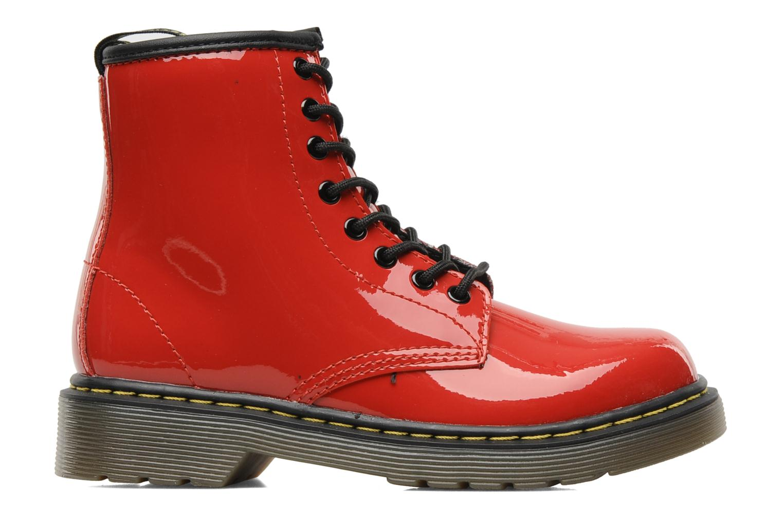 Ankelstøvler Dr. Martens Juniors Delaney Lace boot Rød se bagfra