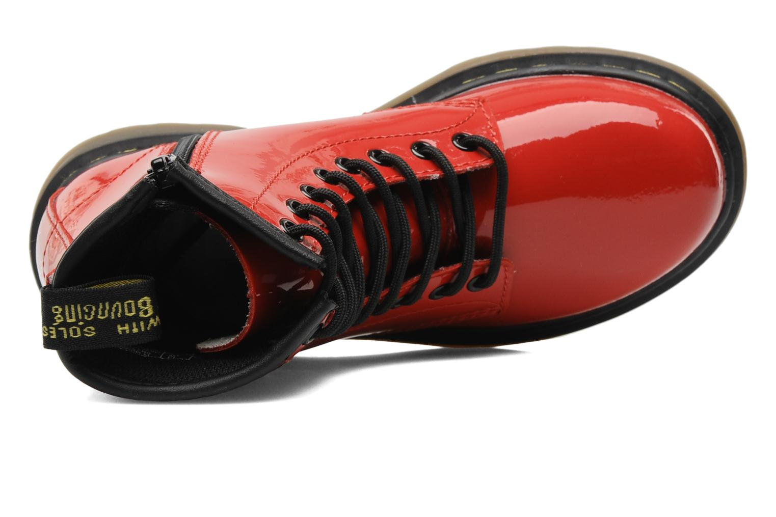 Ankle boots DR. Martens 1460 J Red view from the left