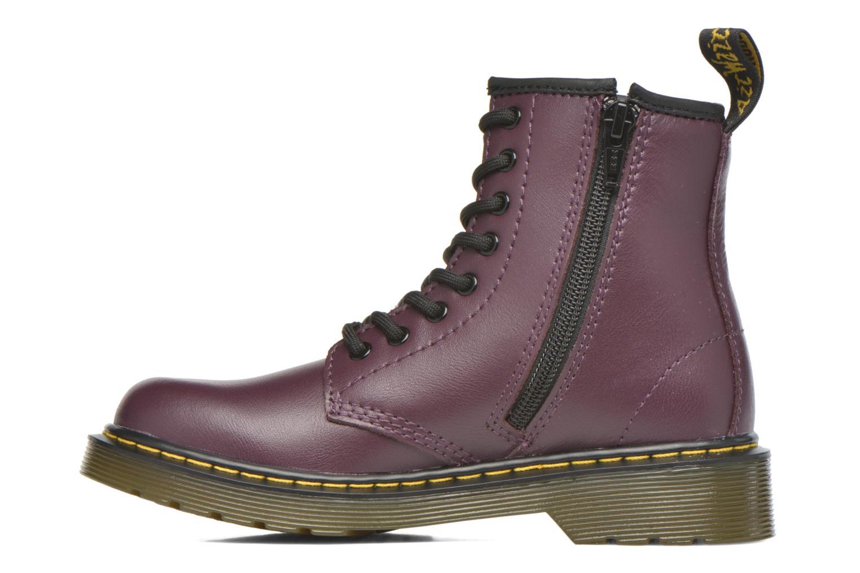 Boots en enkellaarsjes Dr. Martens 1460 J Paars voorkant