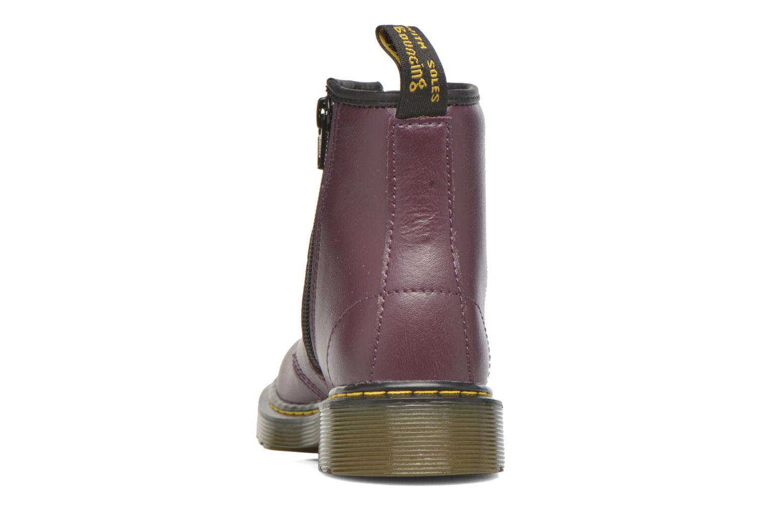 Botines  DR. Martens Juniors Delaney Lace boot Violeta      vista lateral derecha
