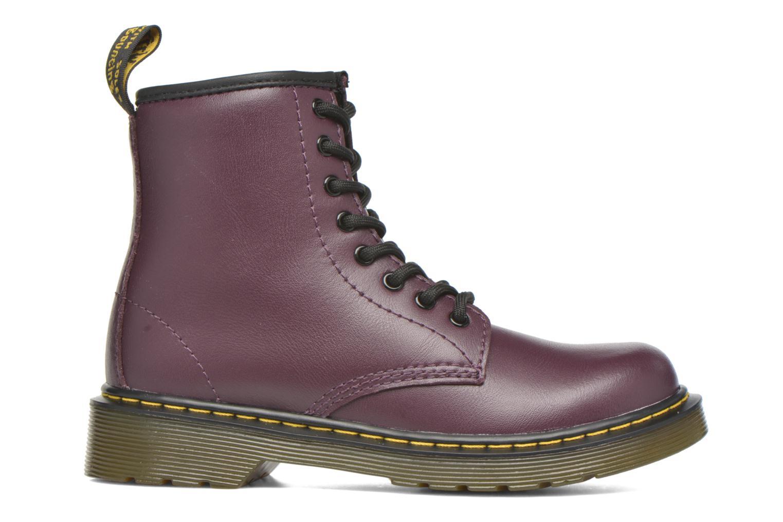Stiefeletten & Boots Dr. Martens Juniors Delaney Lace boot lila ansicht von hinten