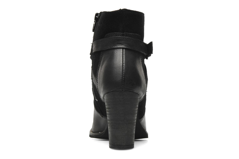 Boots en enkellaarsjes Addict-Initial Chandail Zwart rechts