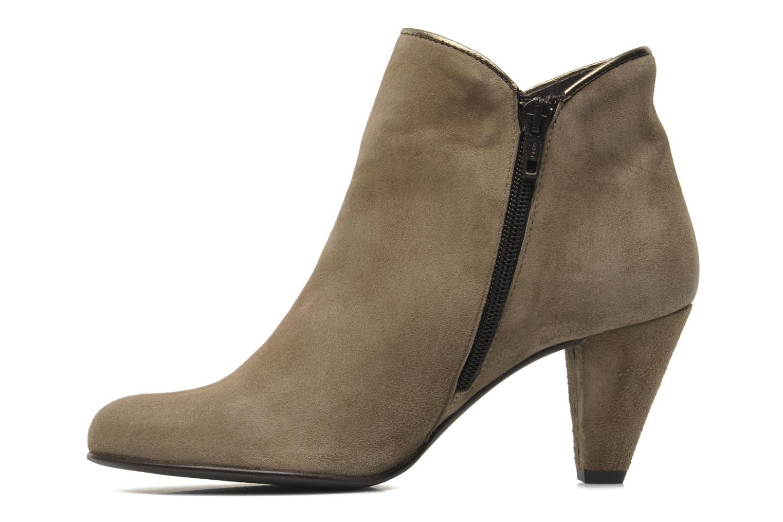 Boots en enkellaarsjes Georgia Rose Lagopède Beige voorkant