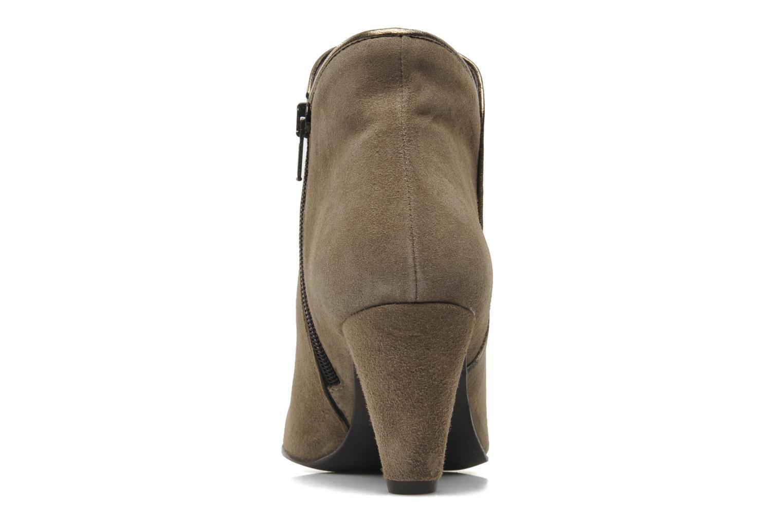 Bottines et boots Georgia Rose Lagopède Beige vue droite