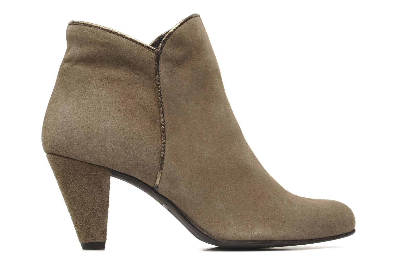 Bottines et boots Georgia Rose Lagopède Beige vue derrière