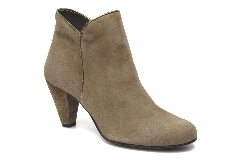 Bottines et boots Georgia Rose Lagopède Beige vue détail/paire