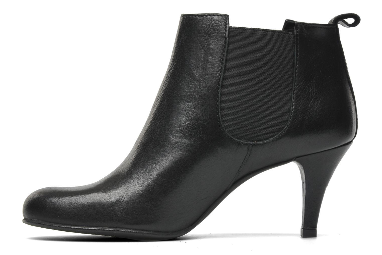 Bottines et boots Georgia Rose Leipoa Noir vue face