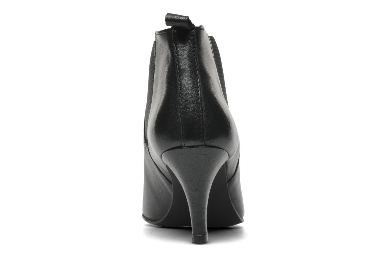Bottines et boots Georgia Rose Leipoa Noir vue droite