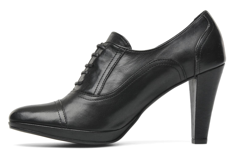 Chaussures à lacets Georgia Rose Linotte Noir vue face