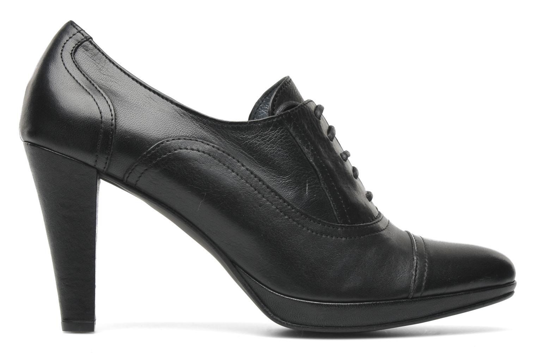 Chaussures à lacets Georgia Rose Linotte Noir vue derrière