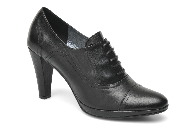 Chaussures à lacets Georgia Rose Linotte Noir vue détail/paire