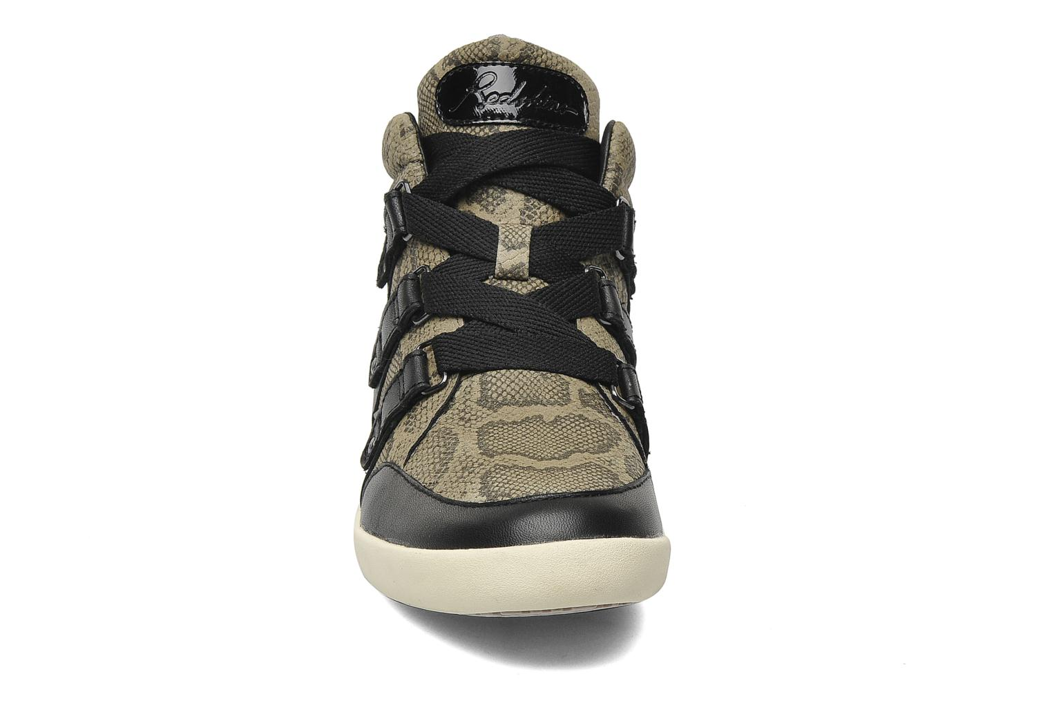 Trainers Redskins Glissan Black model view