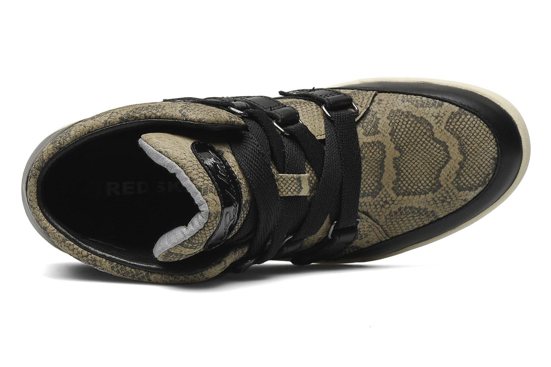 Sneakers Redskins Glissan Zwart links