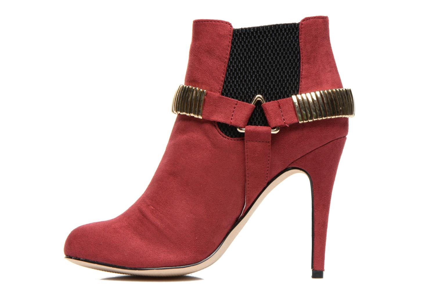 BMtrissa Red Micro Suede